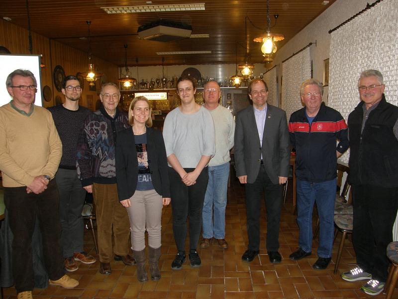 NSG Oberst Schiel 2018 - Klein, Baer, Seibert, Schroth, Bucher, Rudolph, Eberwein, Jungmann, Gläser