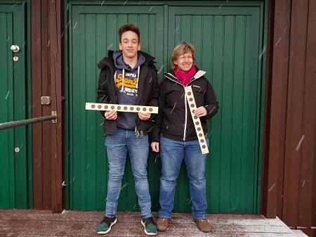 NSG Oberst Schiel 2017 - Marco Ciulla und Johanna Nägelsbach, Sieger Qualifikation